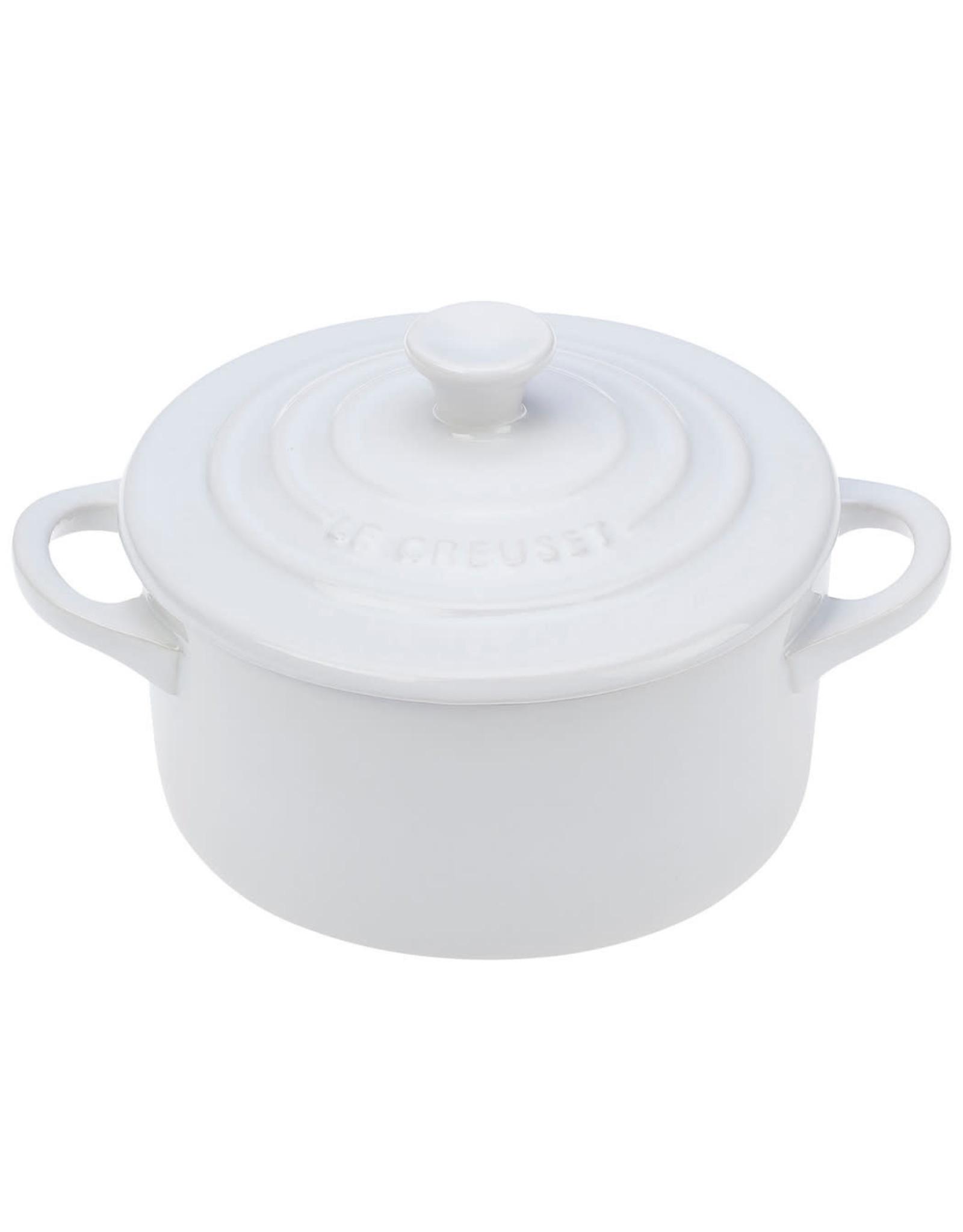 Le Creuset Le Creuset Mini Cocotte Round White