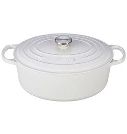 Le Creuset Le Creuset 6.75qt Oval Dutch Oven White
