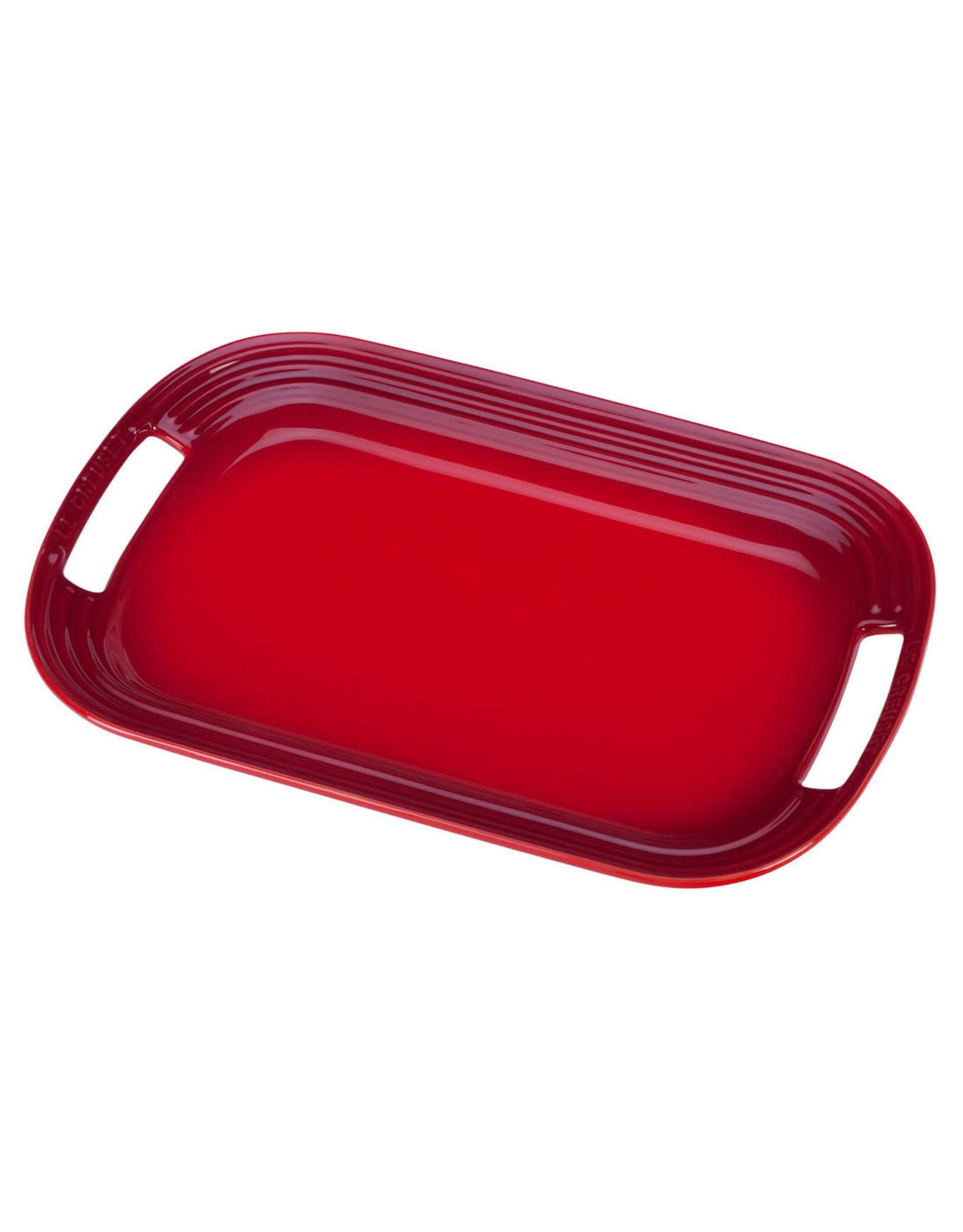 """Le Creuset Le Creuset 14"""" Serving Platter Cerise"""