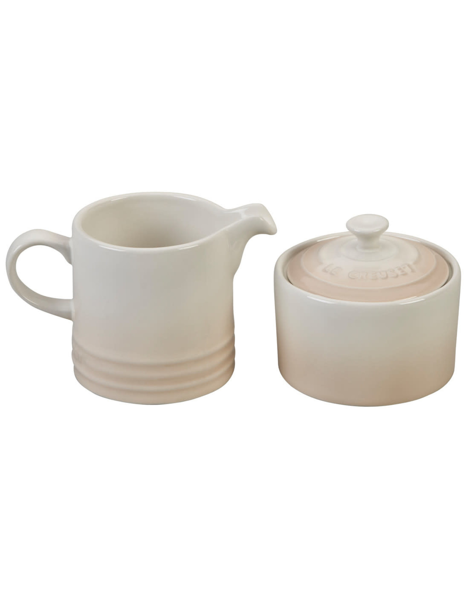 Le Creuset Le Creuset Cream & Sugar Set Meringue