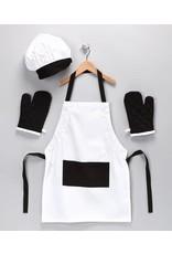 Design Imports DI Black/White Kid Chef Gift Set