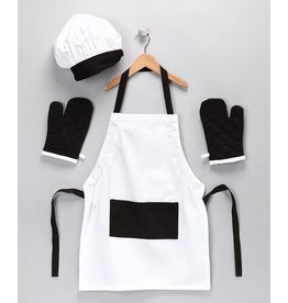 Design Imports DI Black/White Kid Chef Gift Set