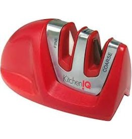 Kitchen IQ KIQ Red Edge Grip Sharpener