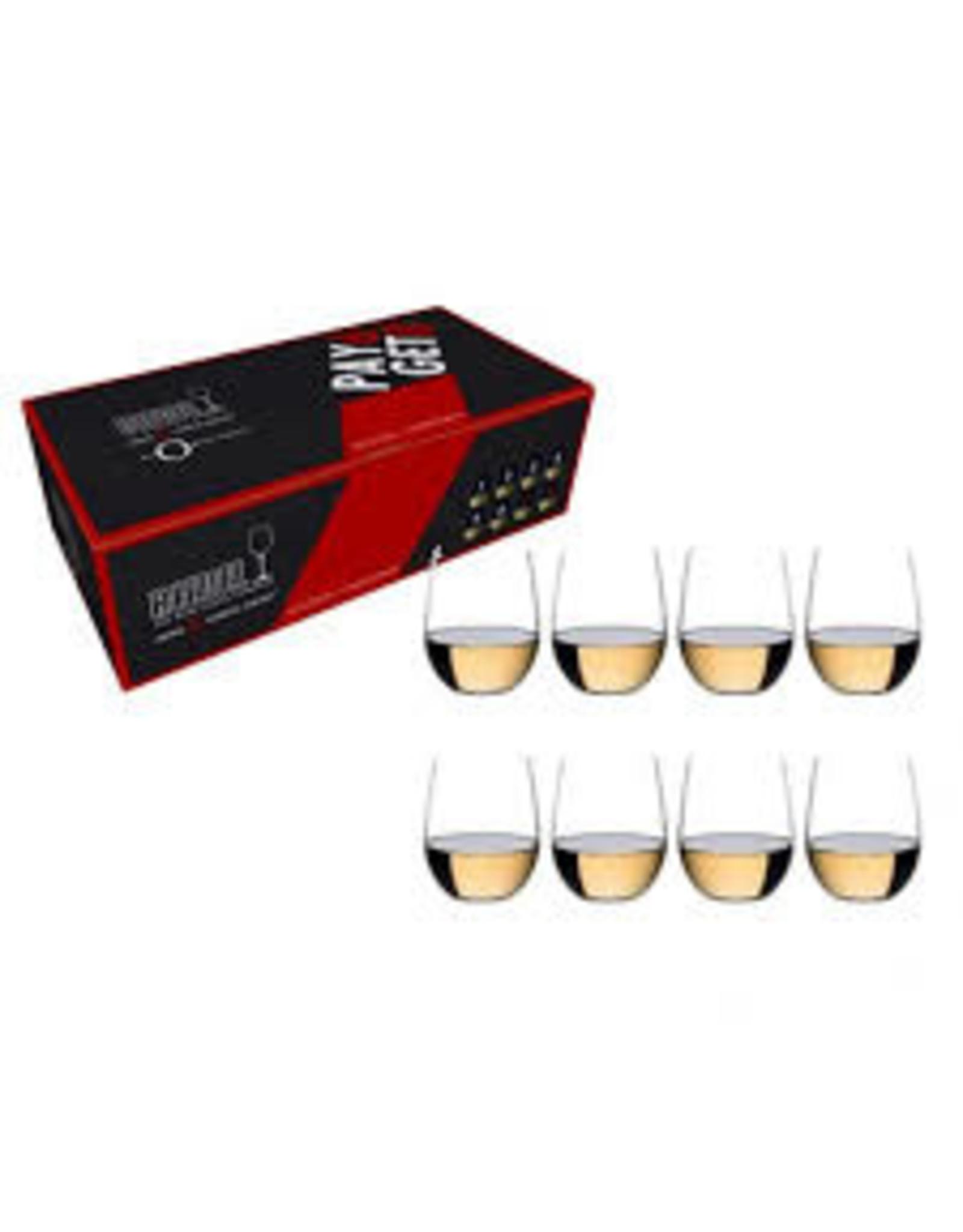 Riedel RIEDEL O Tumbler Viognier/Chardonnay Pay 6 Get 8