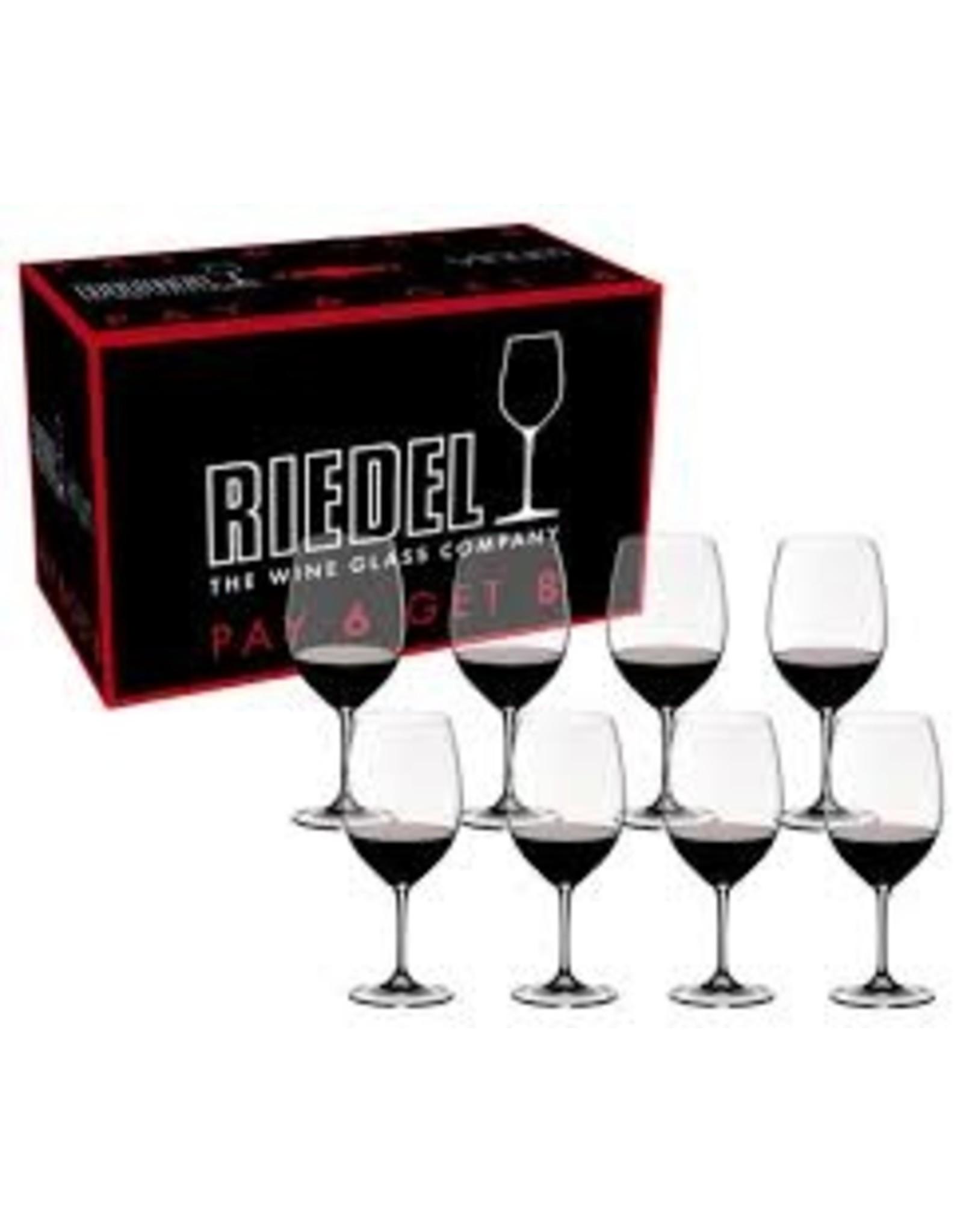 Riedel RIEDEL Bordeaux Cab Sauv/Merlot Pay 6 Get 8