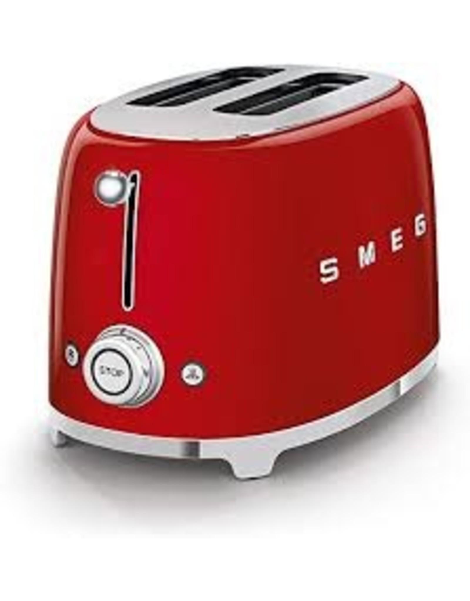 Smeg Smeg - 2 Slot Toaster - Red