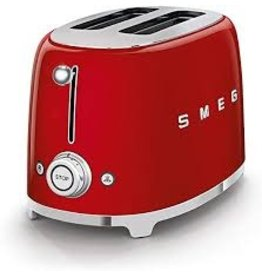 Smeg Smeg - 2 Slot Toaster - Red