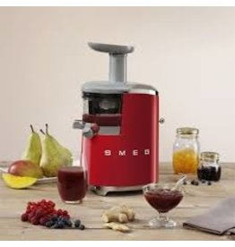 Smeg SMEG - Slow Juicer - Red