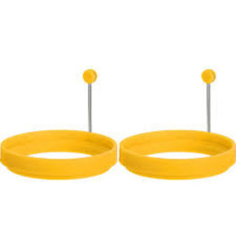 TRUD Set of 2 Egg Rings Double