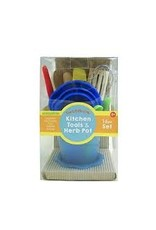 SAS Child's Play Kitchen Tools in Green Pot