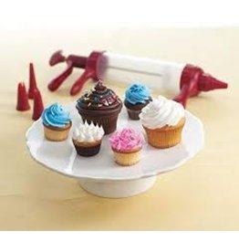 "Nordicware NORDICWARE 8"" Deluxe Cupcake Decorating Set"