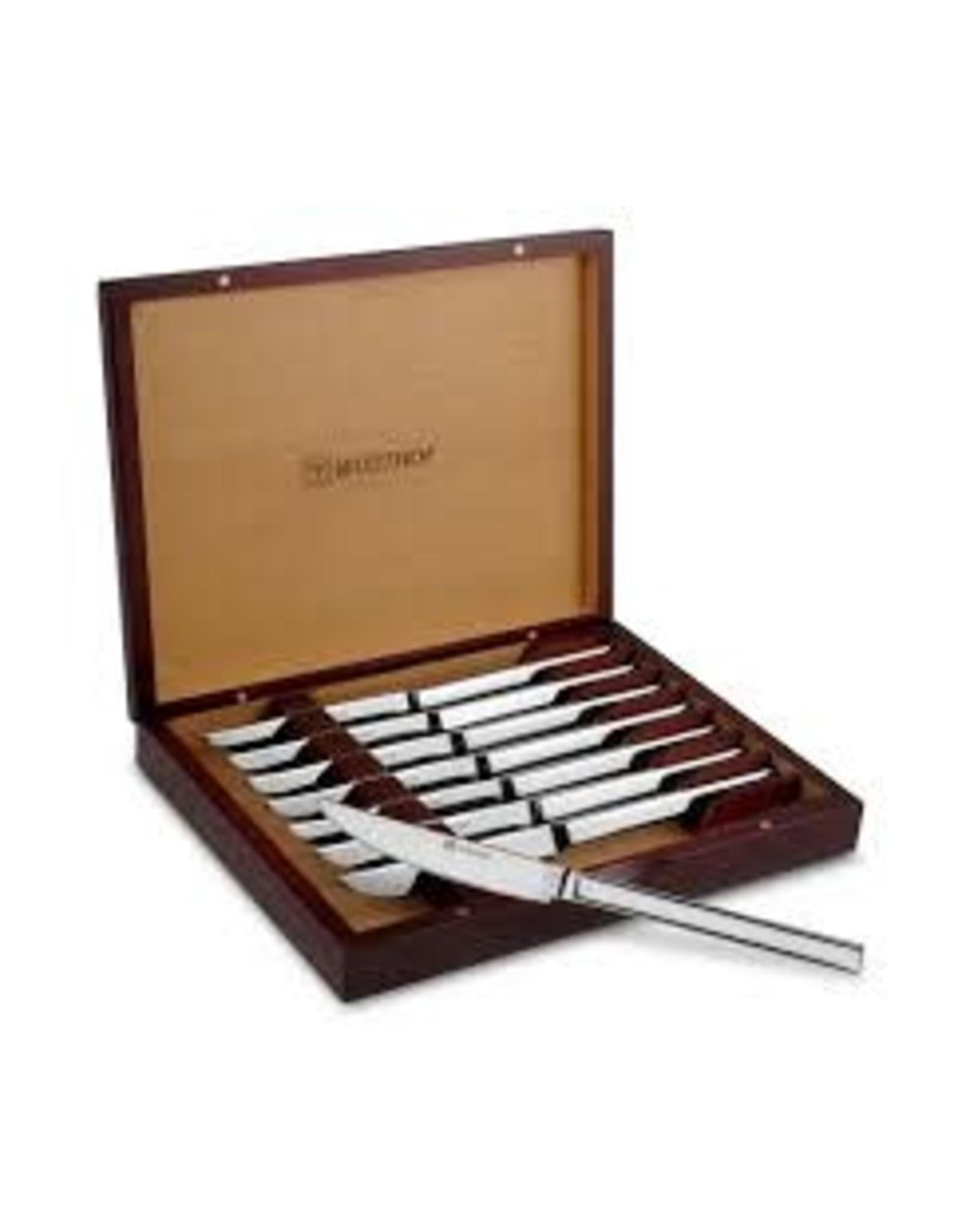 Wusthoff WUS 8pc S/S Steak Knife Set