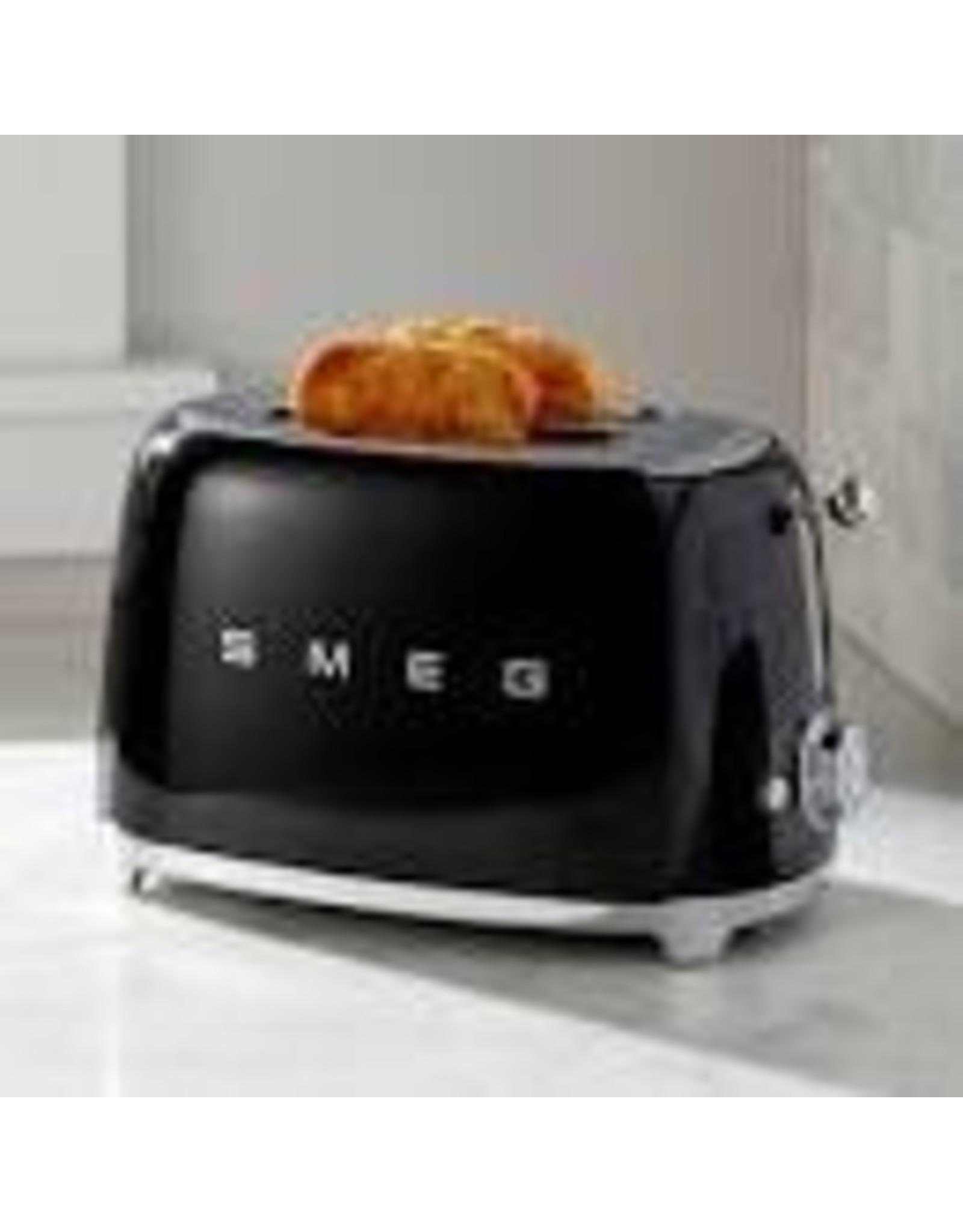 Smeg SMEG - 2 Slot Toaster - Black