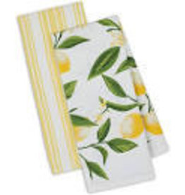 Design Imports DII Lemon Bliss Dishtowel Set
