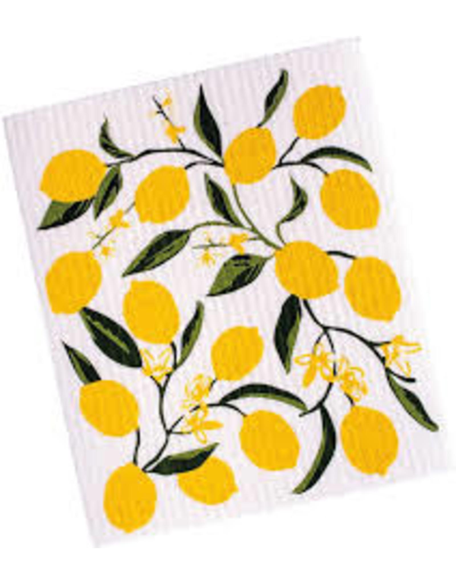 Design Imports DII Lemon Bliss Swedish Dishcloth