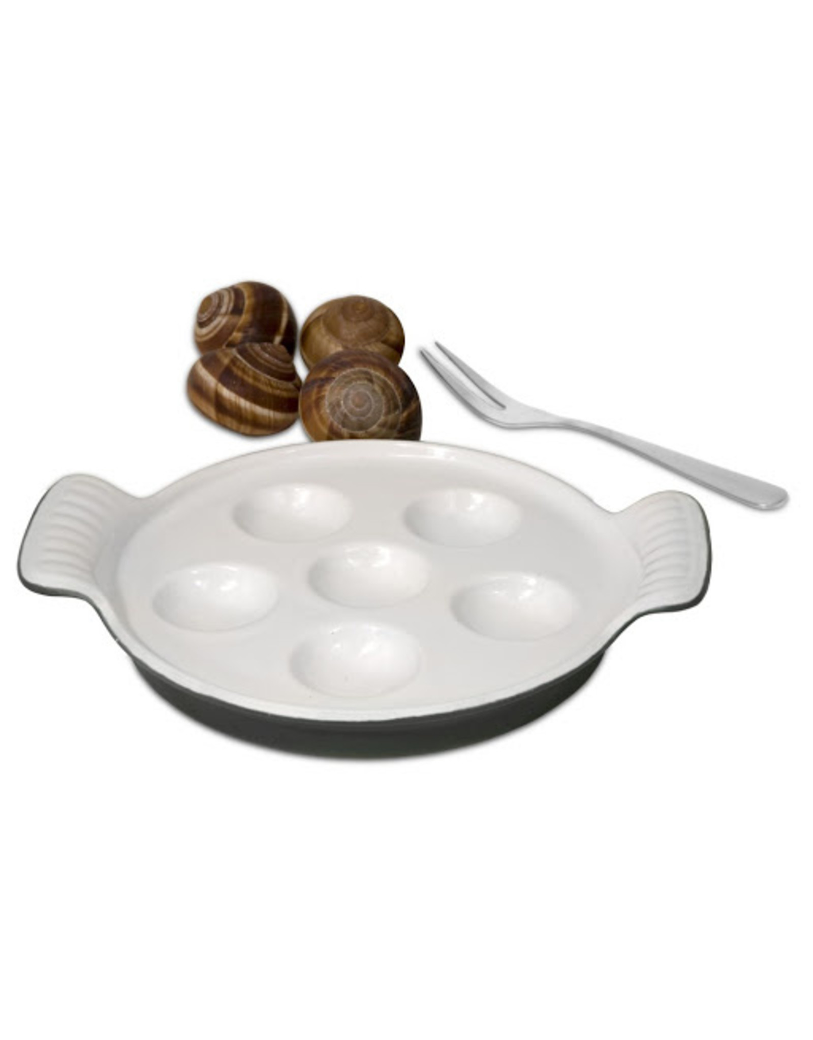 FT Cast Iron Escargot Dish