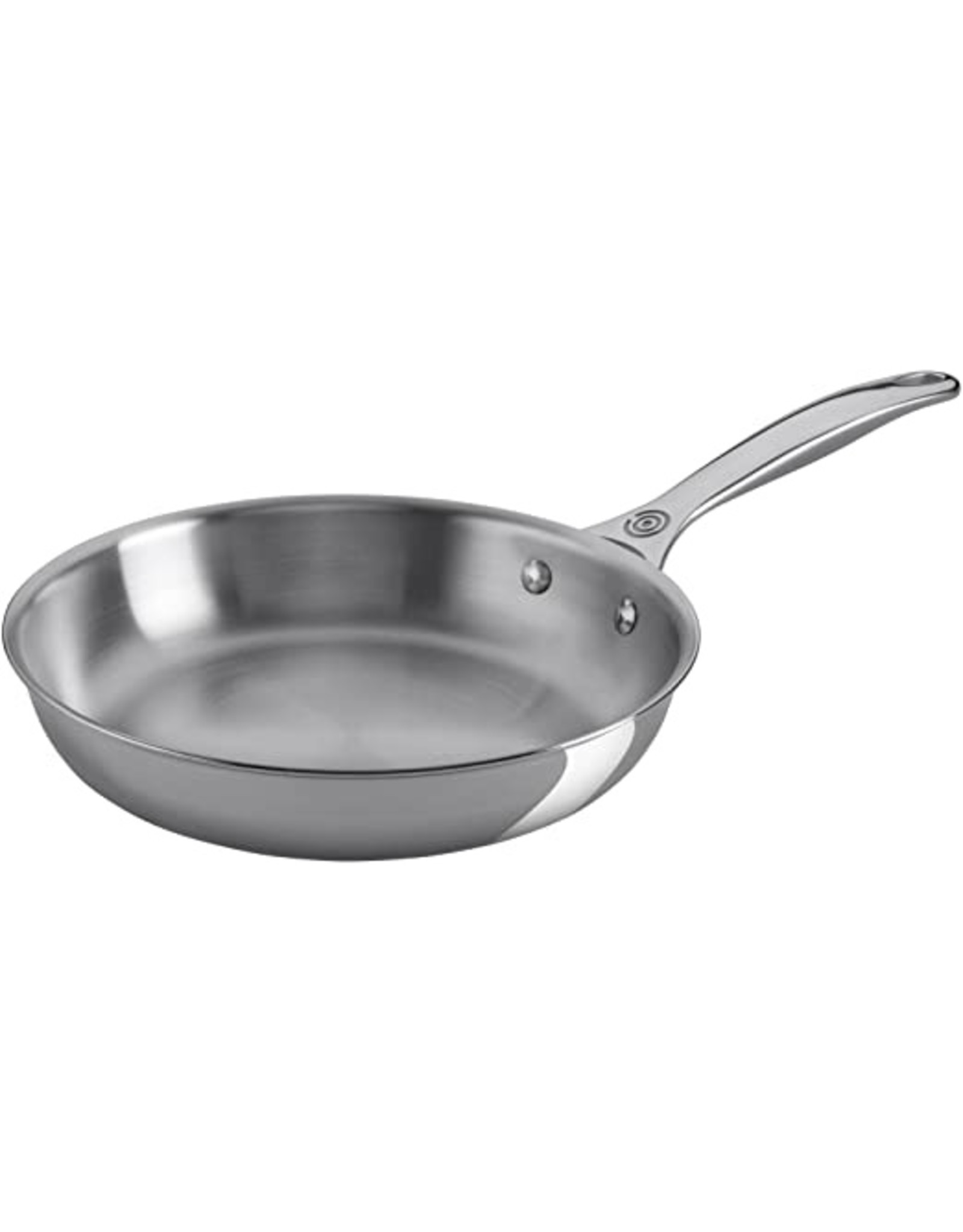 "Le Creuset LeC 12"" Stainless Steel Fry Pan"