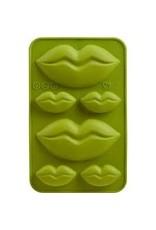 TRUD Lips Chocolate Molds x2