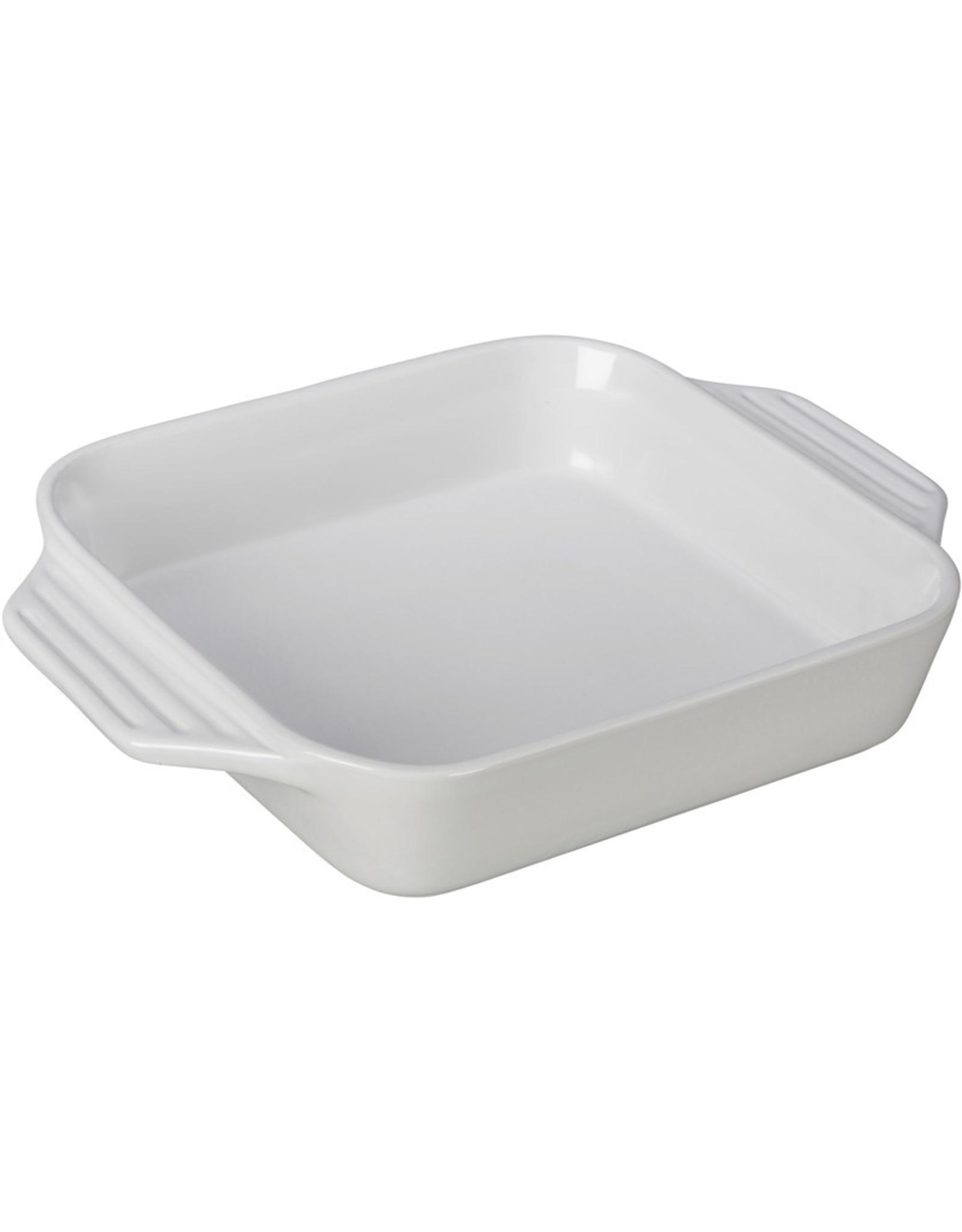 "Le Creuset Le Creuset 9.5"" Square Dish White"