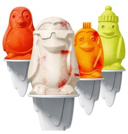 Tovolo TOVOLO Penguin Popsicle Moulds 4pc