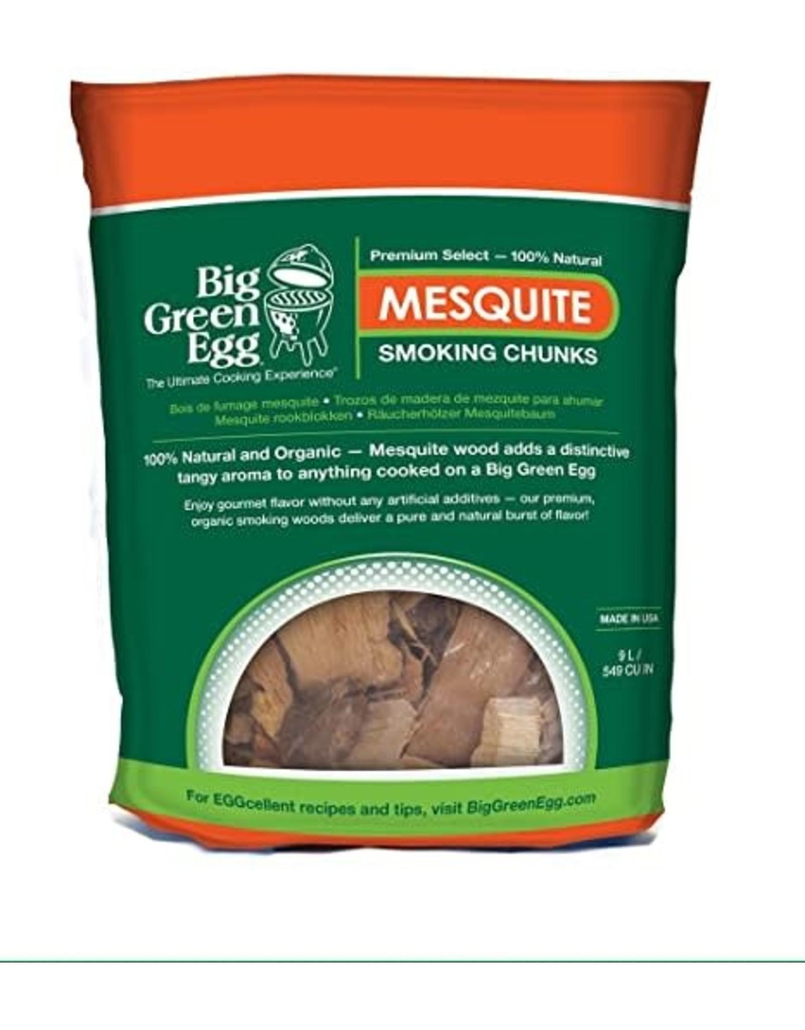 Big Green Egg BGE Mesquite Wood Chunks