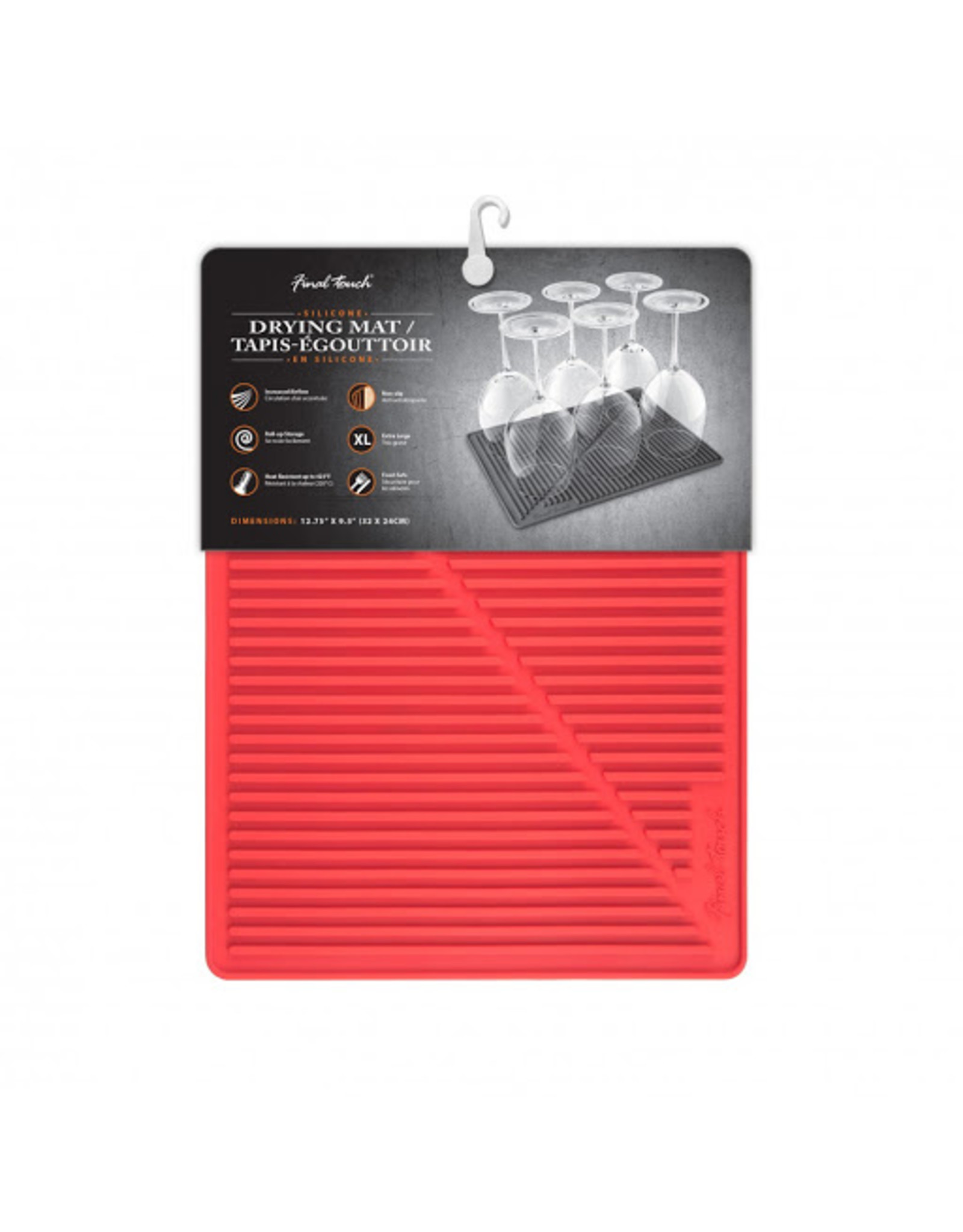 FT Silicone Drying Mat (Red)
