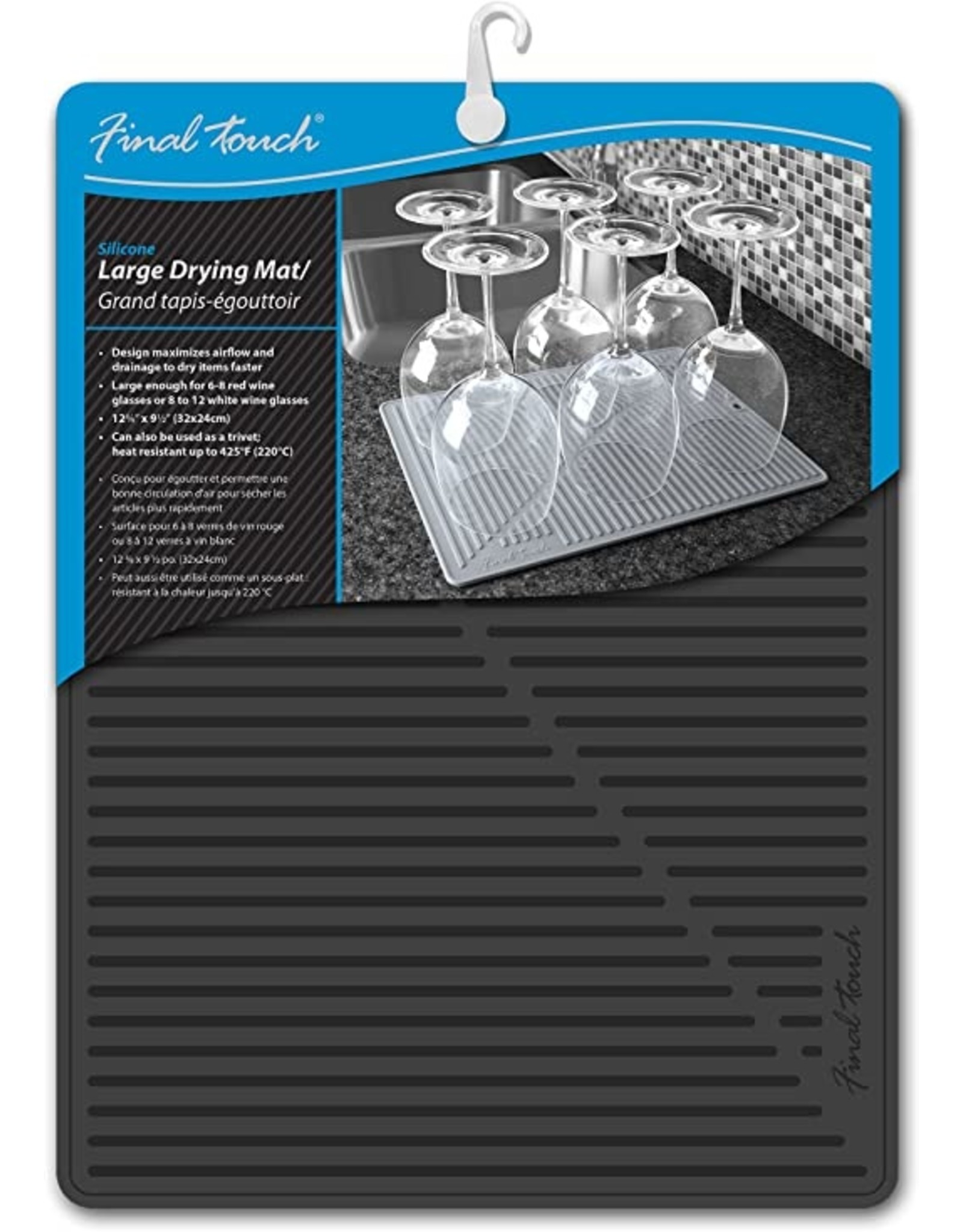 FT Silicone Drying Mat (Blk)