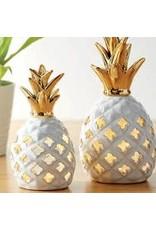 Design Imports DI Small Pineapple LED Lantern