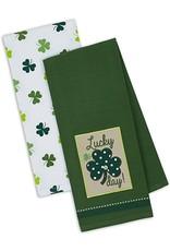 Design Imports DII Lucky Shamrock Dishtowel Set