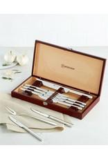 Wusthoff WUSTHOF 10pc Stainless Steel Steak Knives w/ Gift Box