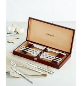 Wusthoff WUSTHOF 10pc Stainless Steel Steak Knives w/ Gift Box