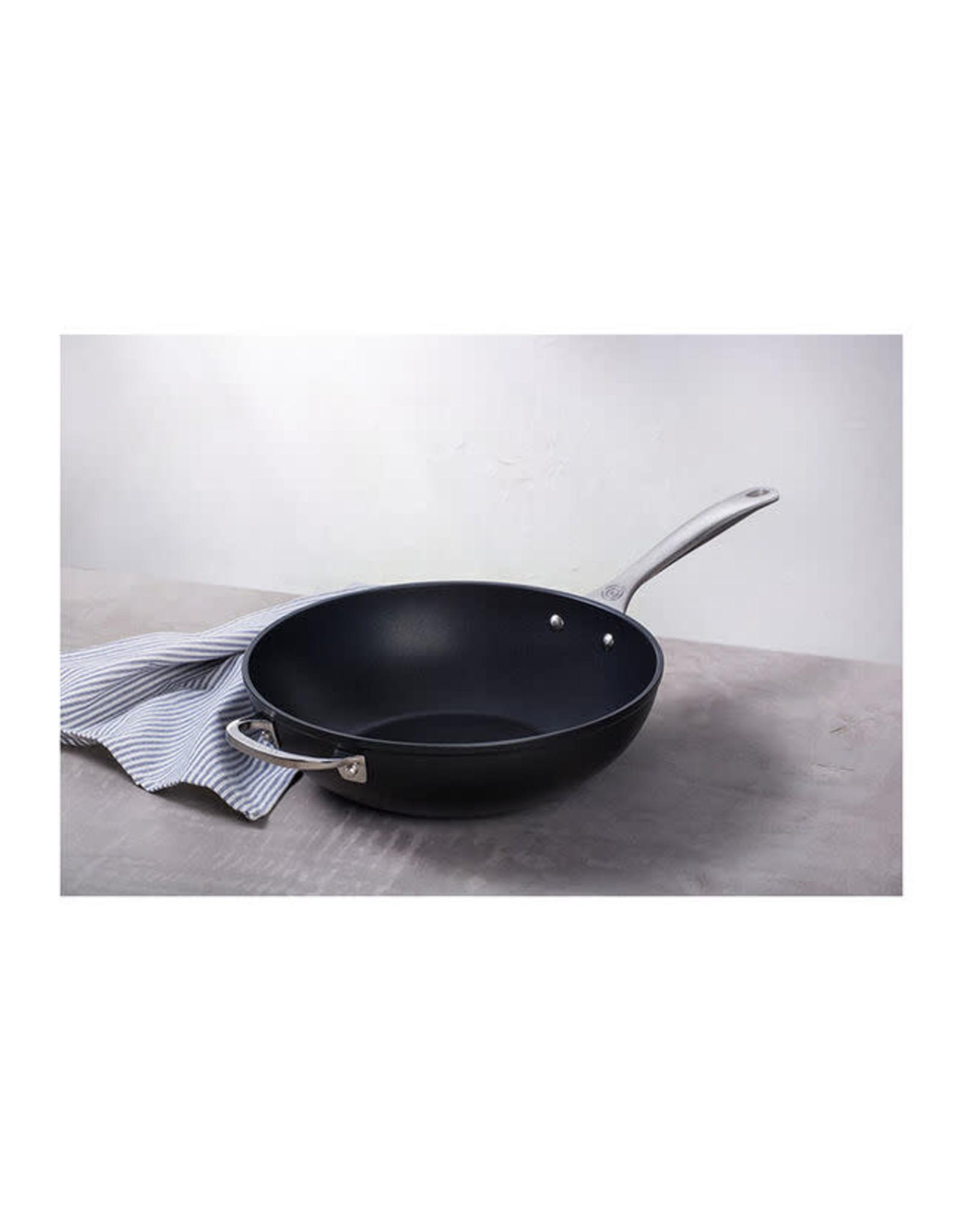 """Le Creuset LE CREUSET- TNS Pro 12"""" Stir Fry Pan (Wok)"""