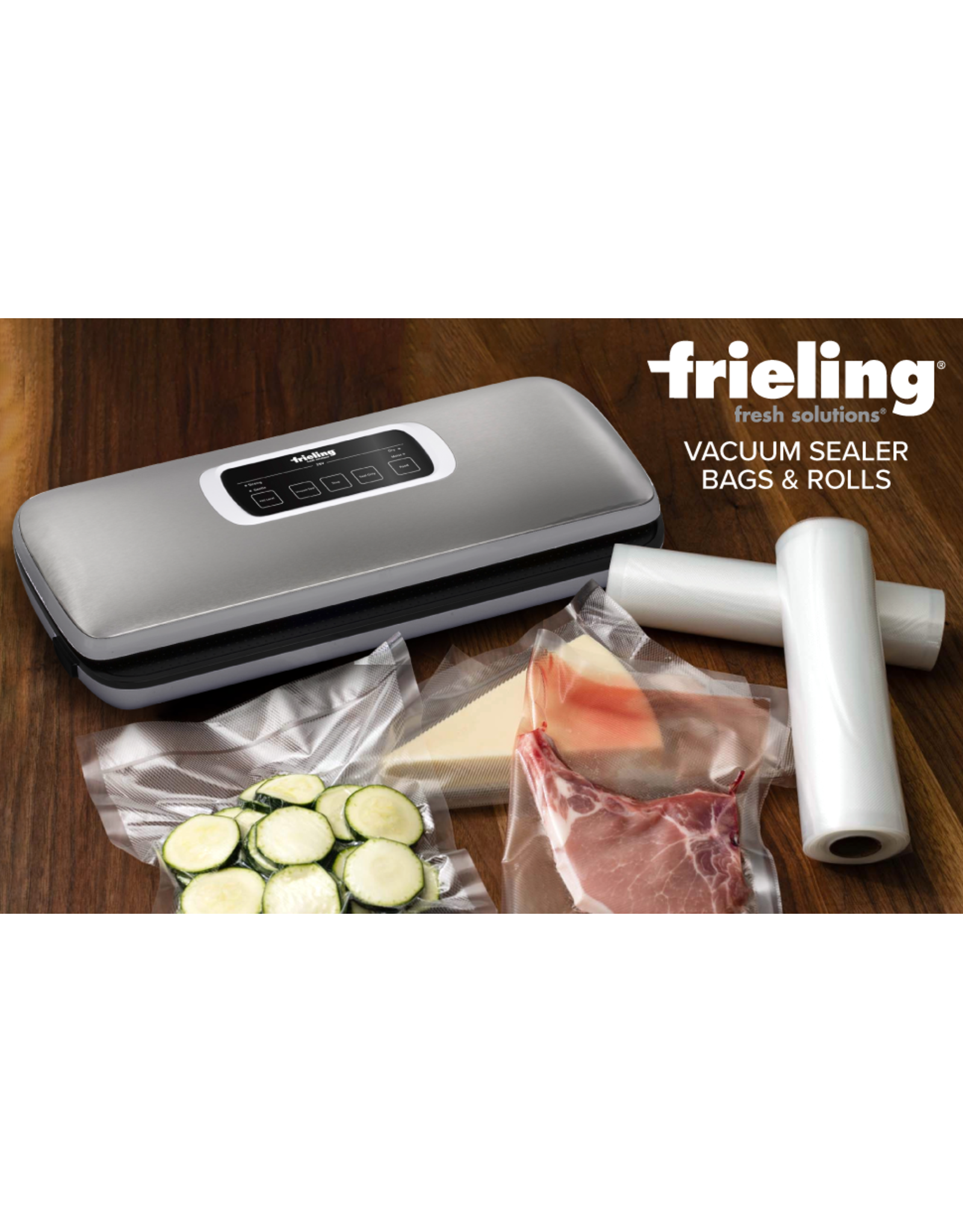 "Frieling FRIELING Vaccuum Bag Rolls (11.8""x15.7')"