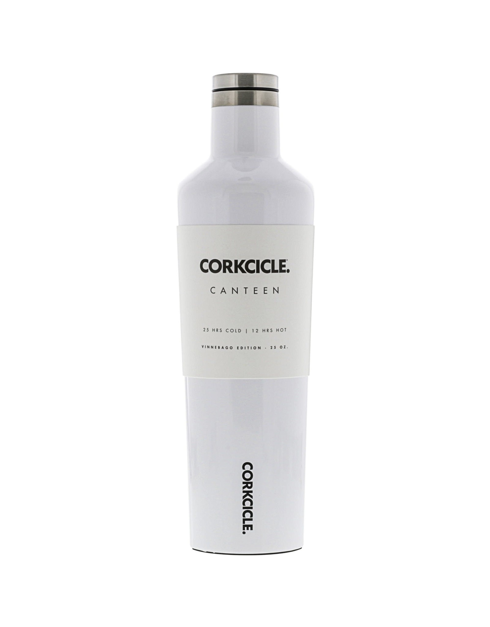 Corkcicle CORKCICLE 25oz Canteen - White