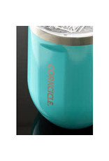 Corkcicle CORKCICLE 12oz Stemless Turquoise