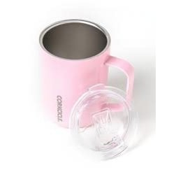 Corkcicle CORKCICLE 16oz Coffee Mug Rose Quartz