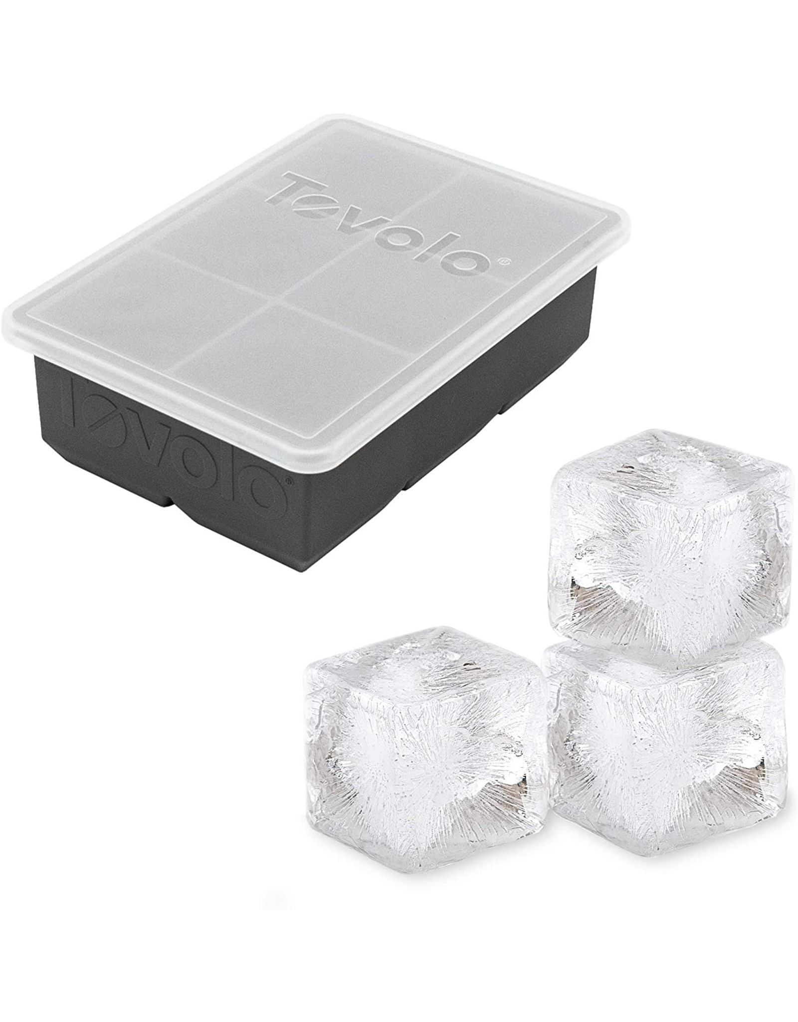 Tovolo TOVOLO King Cube Ice Tray w Lid