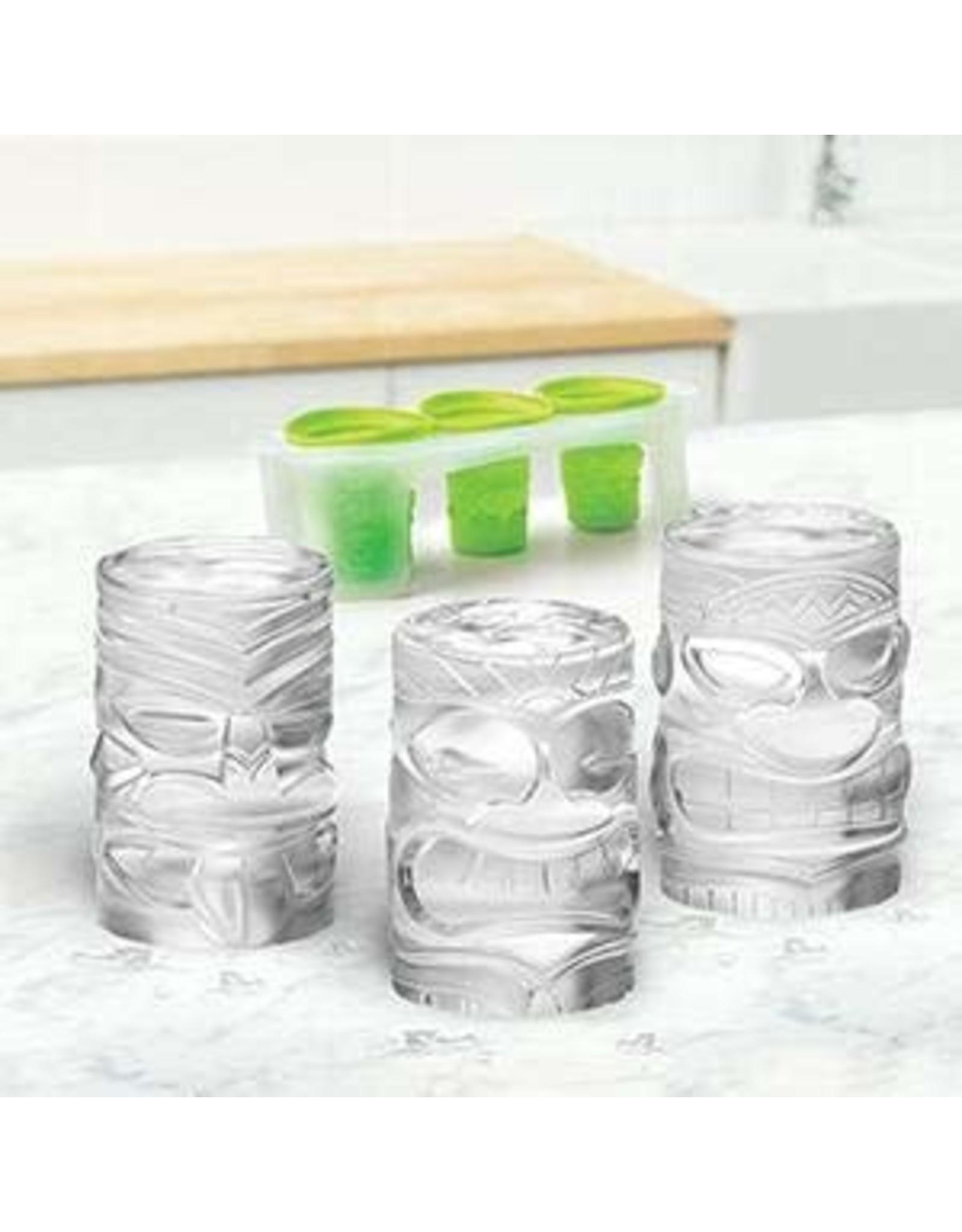 Tovolo TOVOLO Tiki Ice Molds 3pc