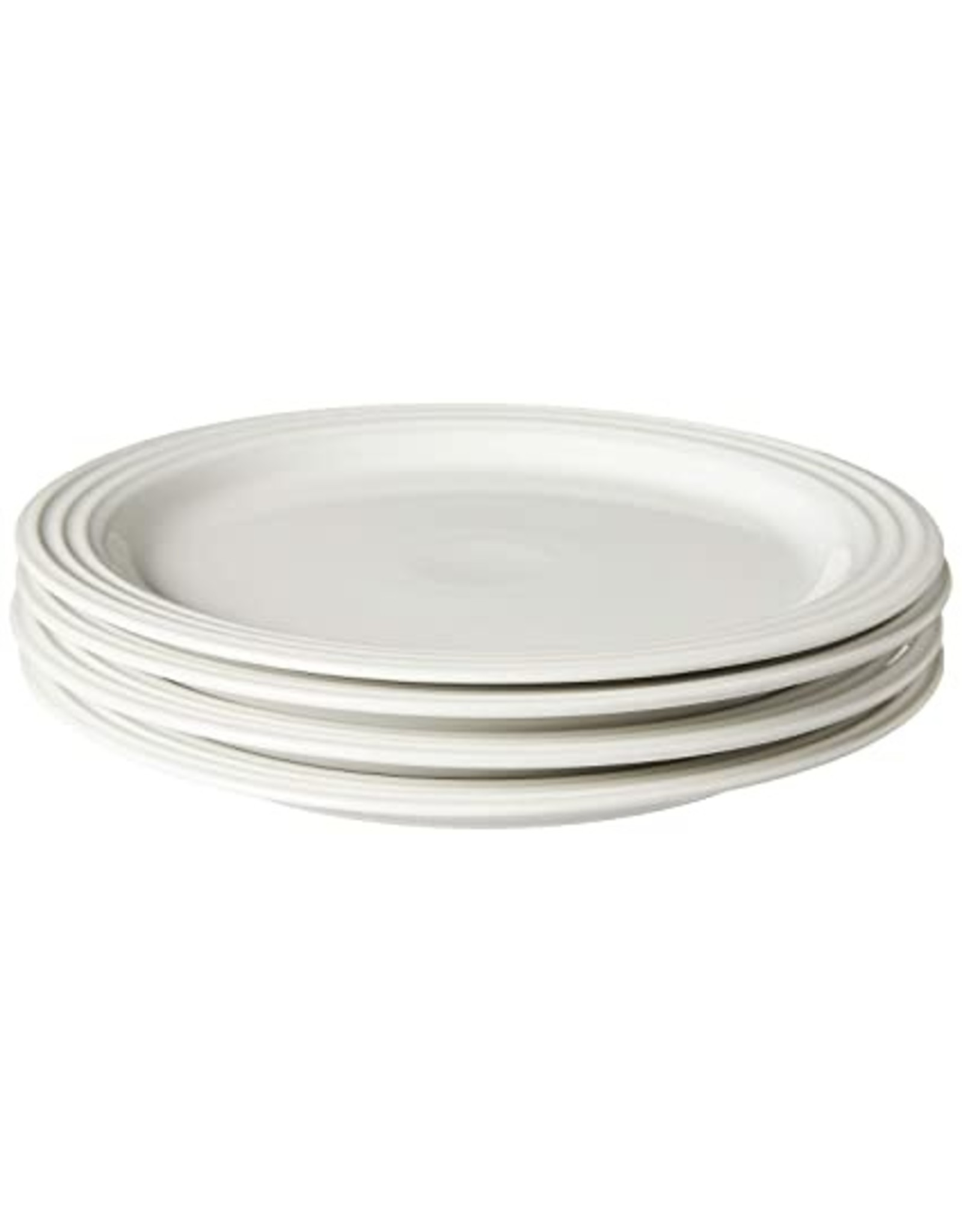 "Le Creuset LE CREUSET- 10.5"" Dinner Plate 4pc- White"
