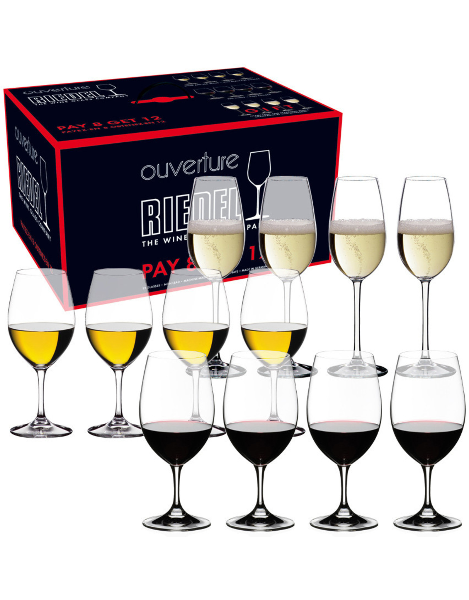 Riedel Riedel Overture Promo Buy 9 Get 12