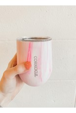 Corkcicle CORKCICLE - Stemless 12oz Pink Marble