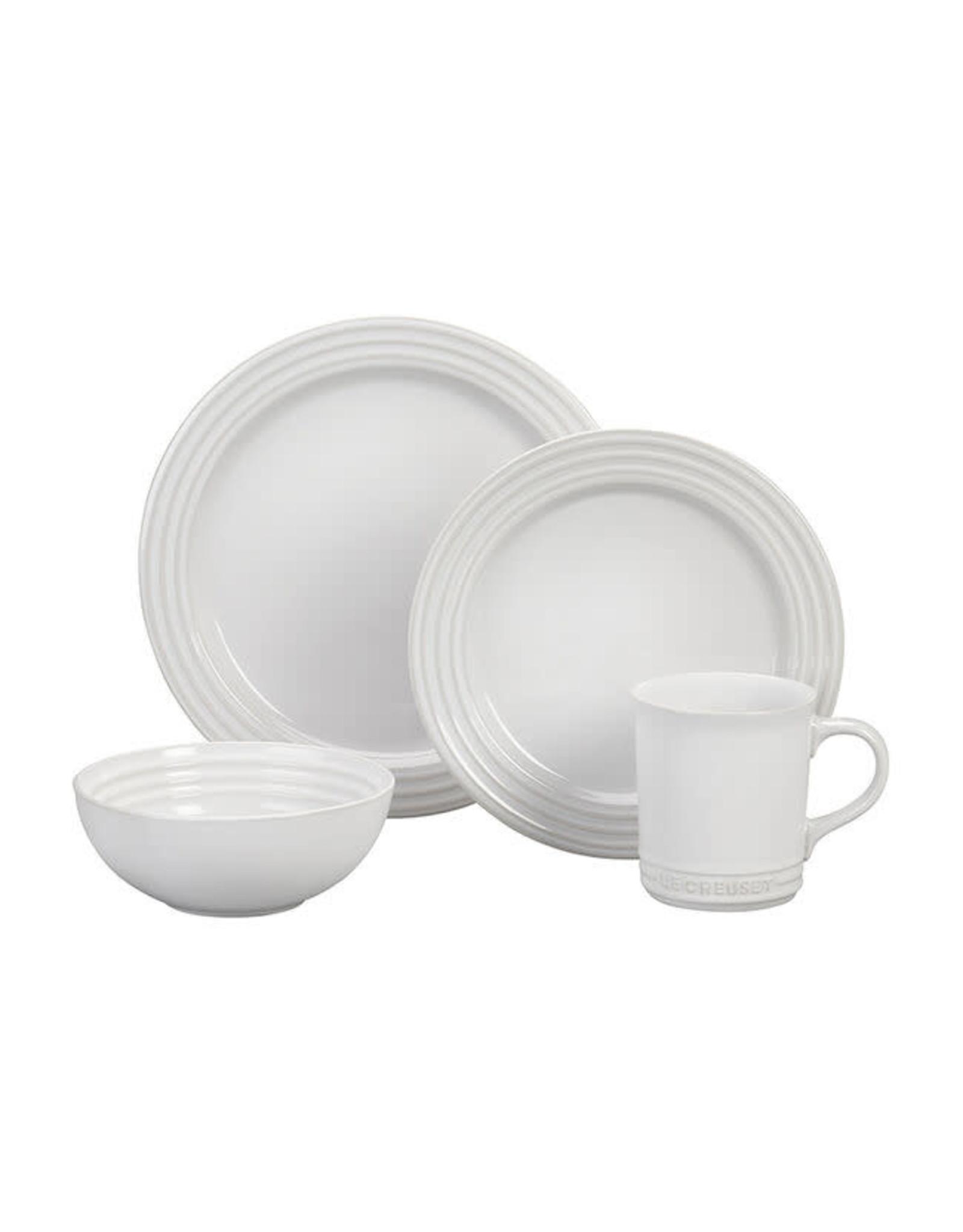 Le Creuset LE CREUSET- 16pc Dinnerware Set - White