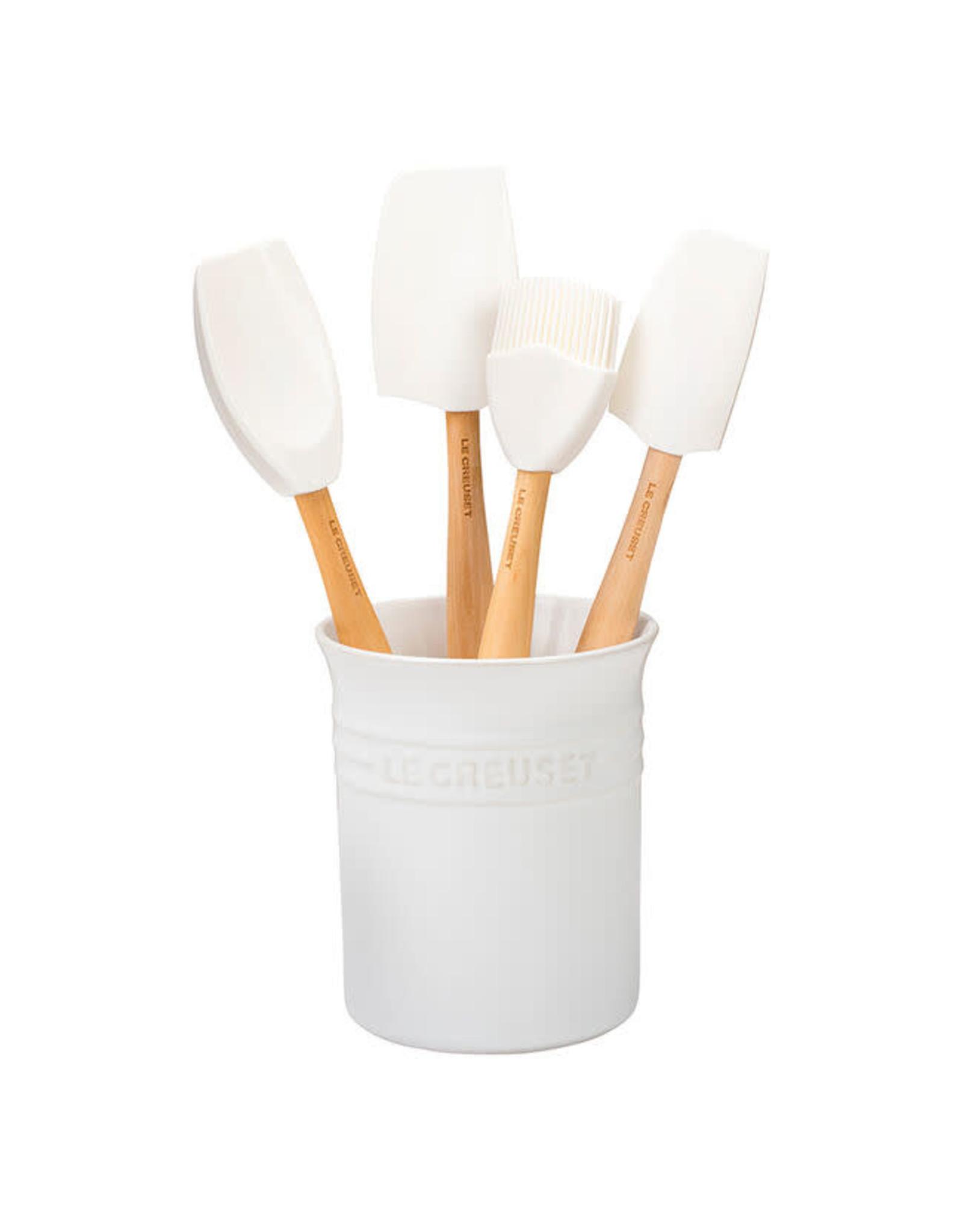 Le Creuset LE CREUSET- 5 Piece Utensil Set White
