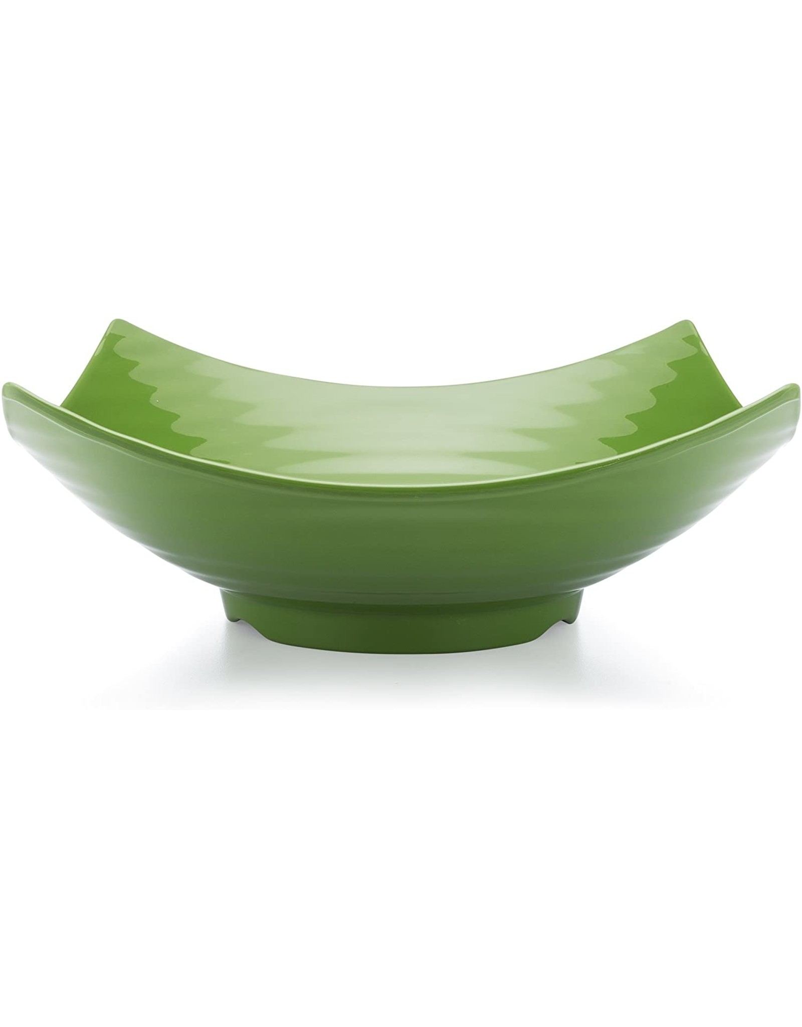 "Q-Squared QSQ Zen 12.5"" Green Serving Bowl"