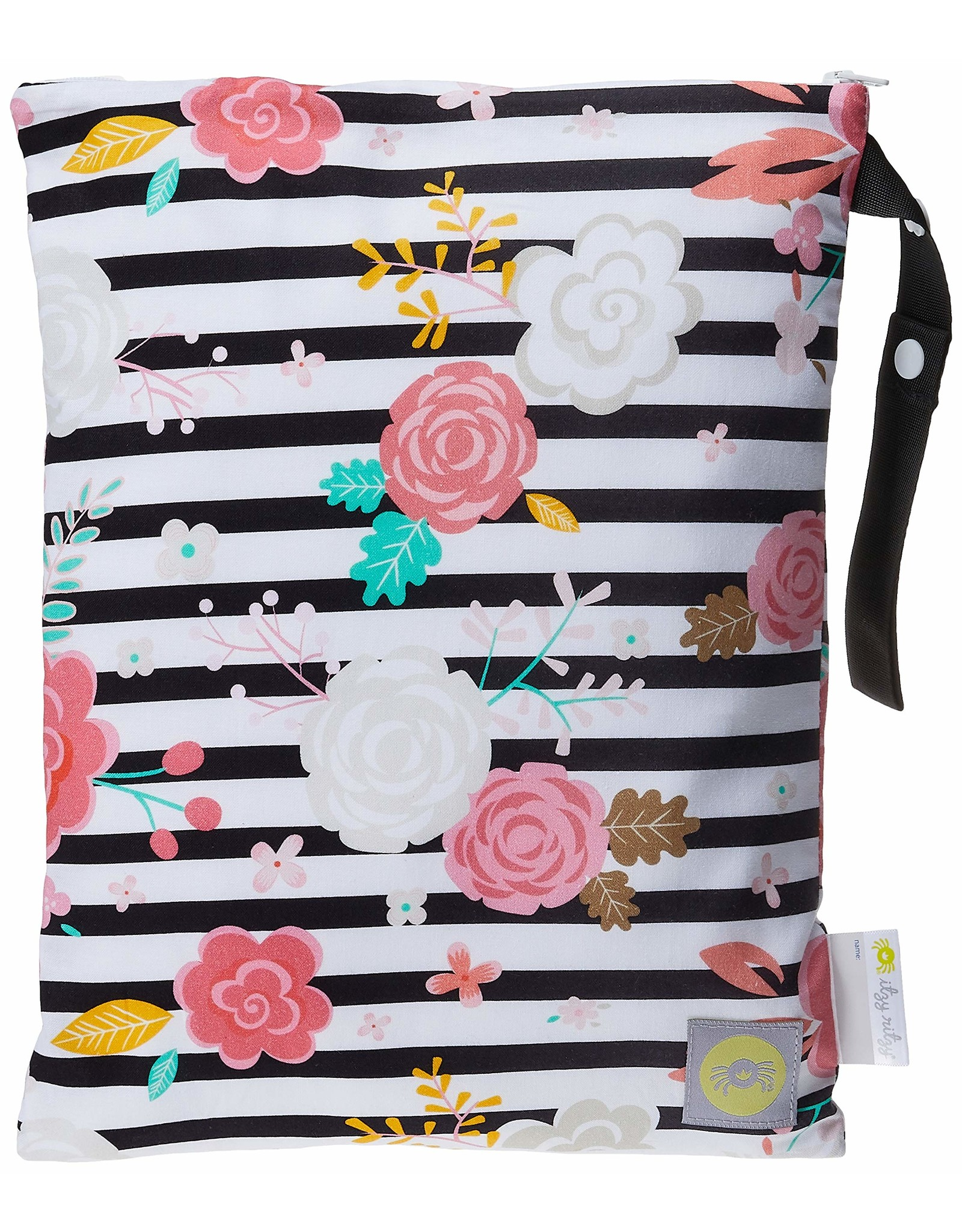 Itzy Ritzy ITZY RITZY-Large Wet Bag Tropical Floral
