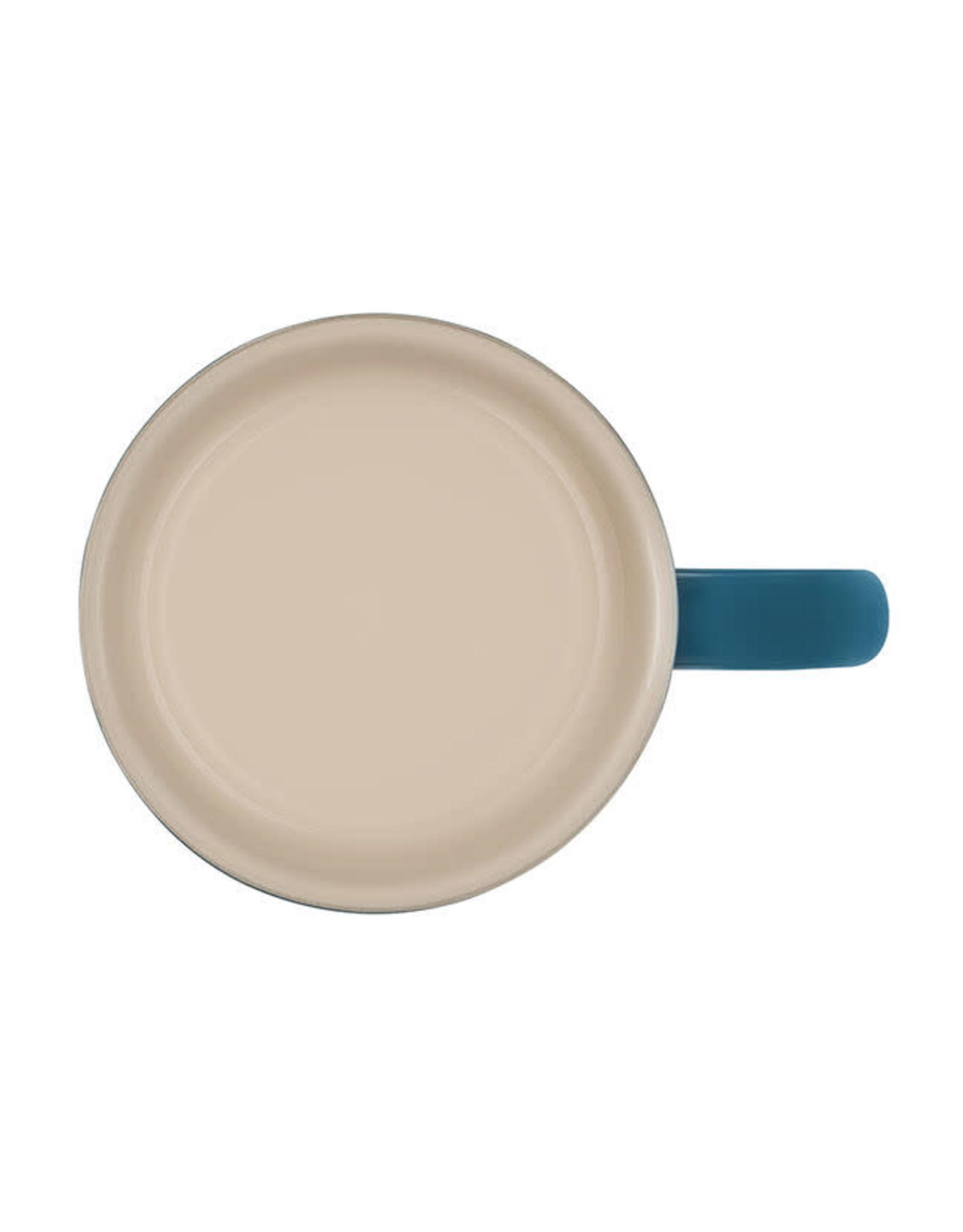 Le Creuset LE CREUSET- Coffee Mug 14oz deep teal