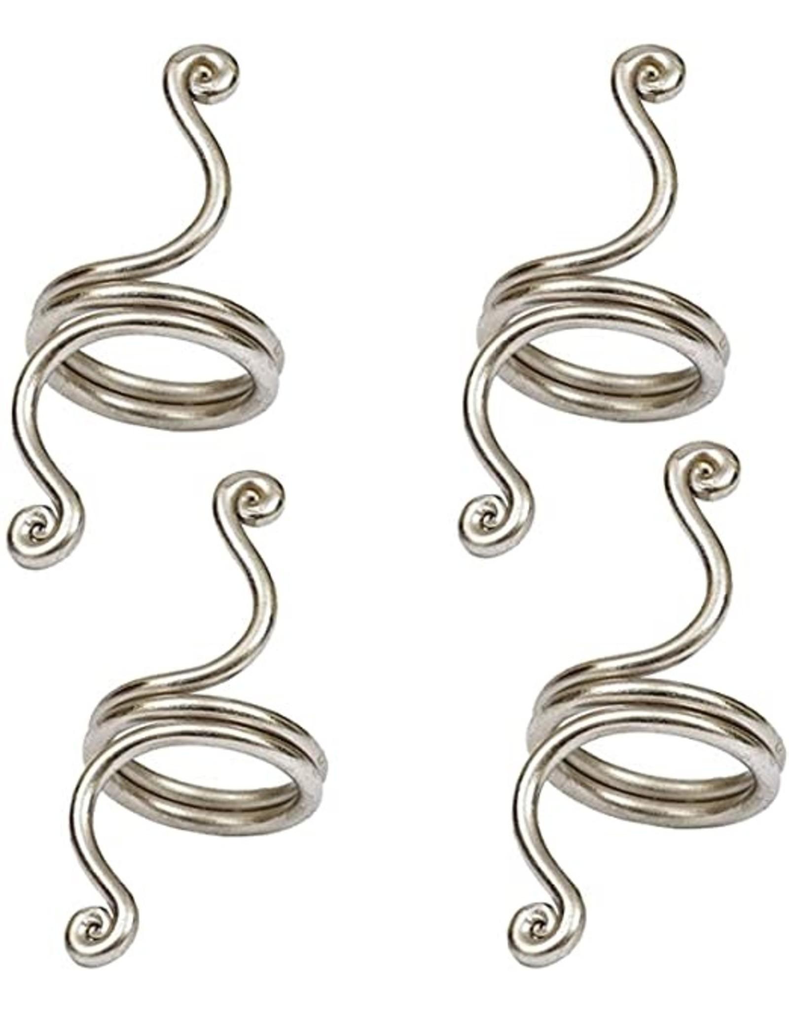 Design Imports DI Silver Twist Napkin Ring