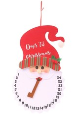 Design Imports DI Santa Days Til Xmas Hanging Sign