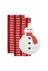 Design Imports DI Cozy Snowman Potholder Gift Set