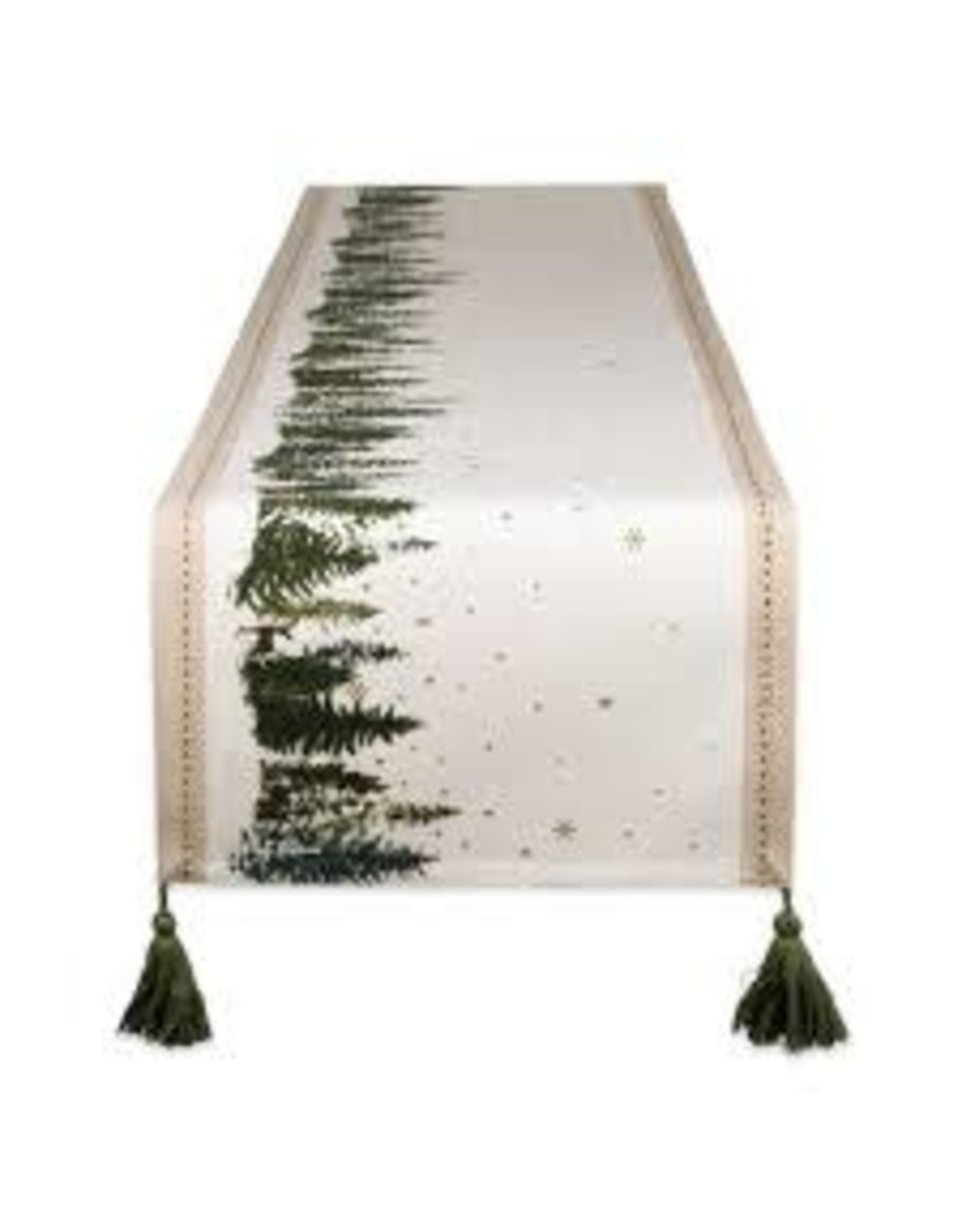 Design Imports DI Winter Woodland Table Runner